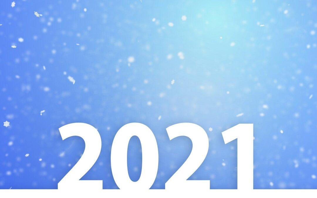 Très belle année 2021 à tous
